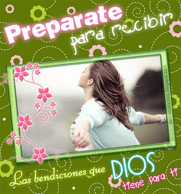 PREPARATE  PARA RECIBIR…