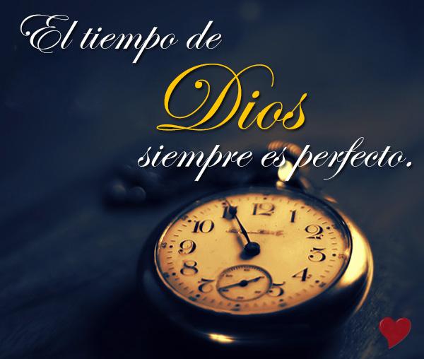 LOS TIEMPOS DE DIOS