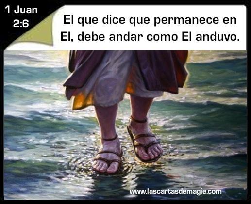 Camina como Jesús caminó