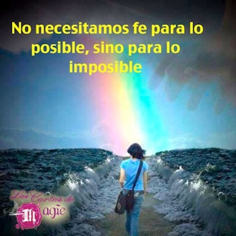 FE PARA LO IMPOSIBLE