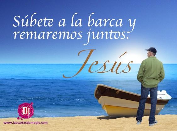 Jesús está en tu barca