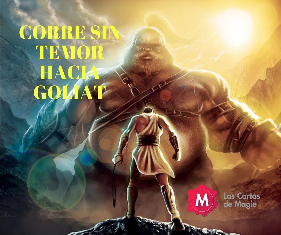 Tú vienes contra mí con espada, lanza y jabalina, pero yo vengo a ti en el nombre del Señor Todopoderoso, el Dios de los ejércitos de Israel, a los que has desafiado.