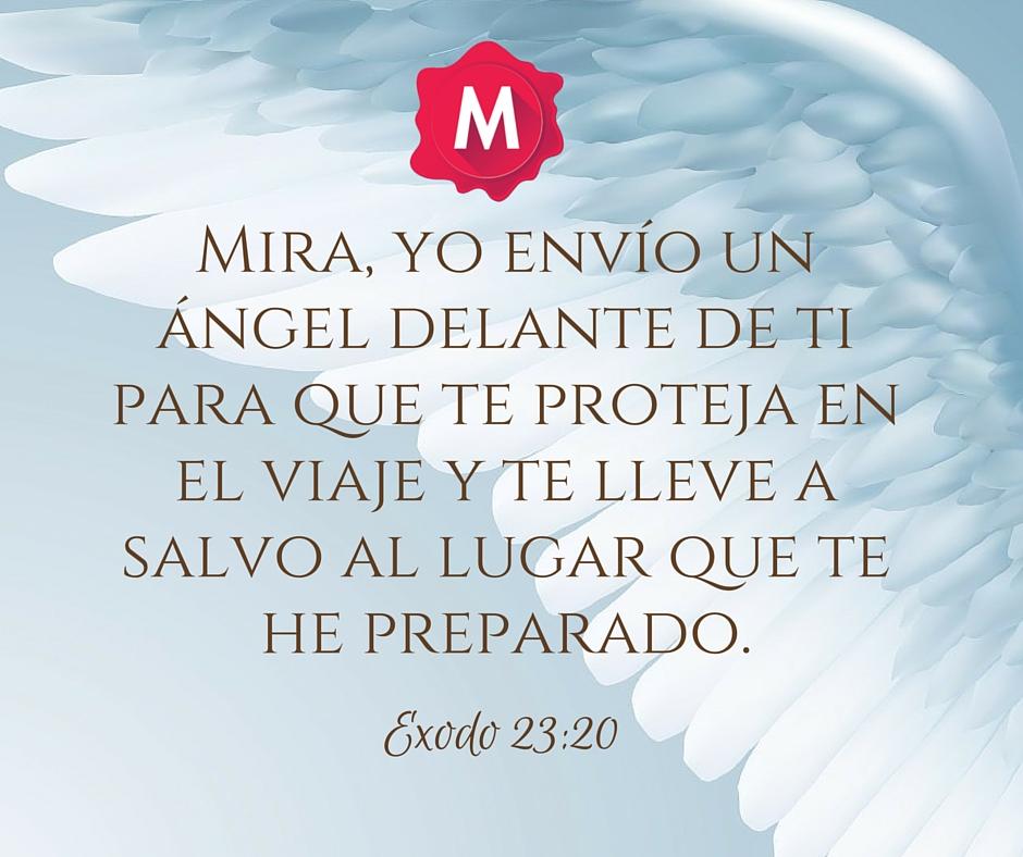 A SUS ANGELES MANDA CERCA DE TI