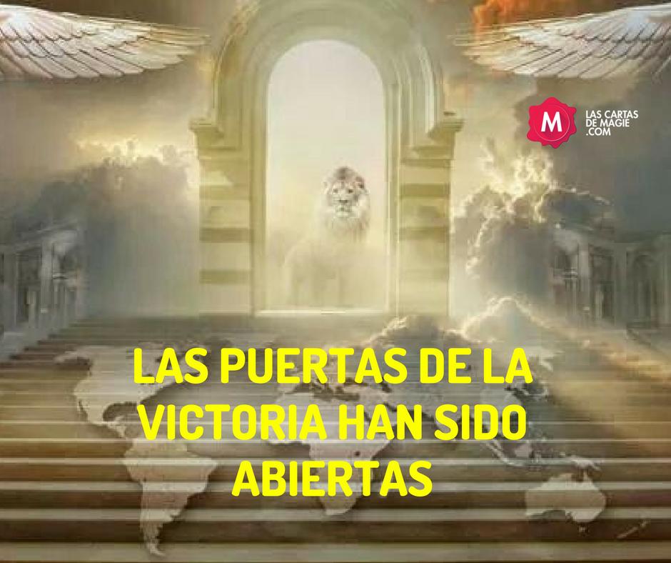 LAS PUERTAS DE LA VICTORIA HAN SIDO ABIERTAS