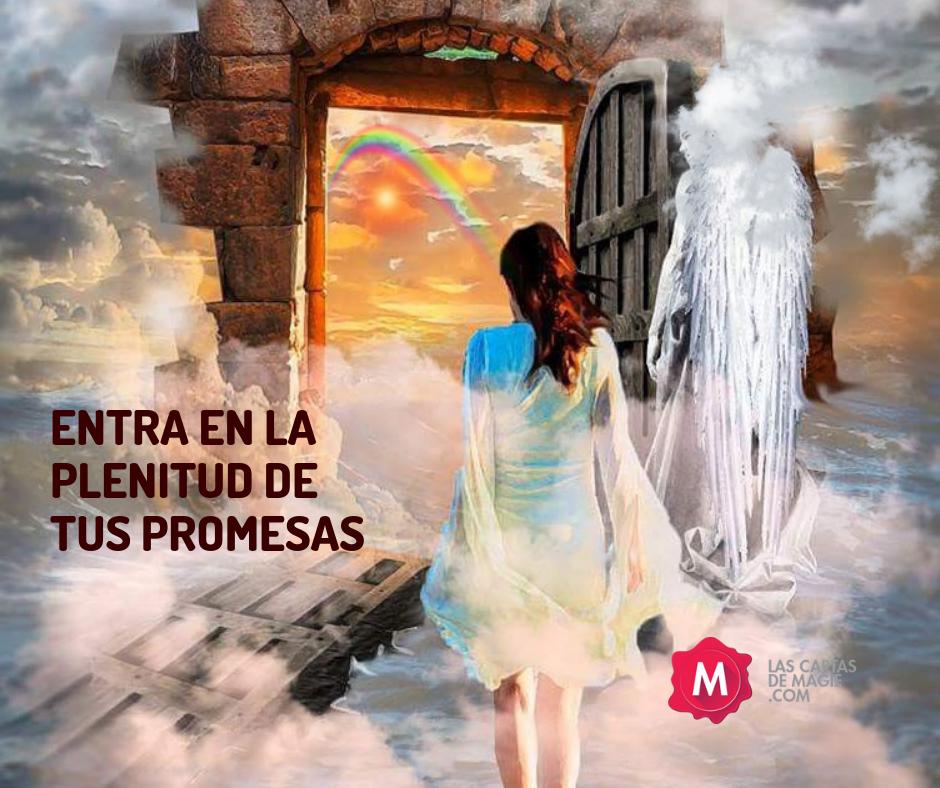 ENTRA EN LA PLENITUD DE TUS PROMESAS